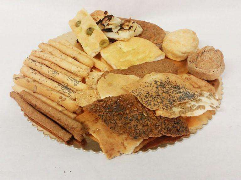 Focacce e crackers